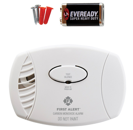First Alert CO400 Battery Powered Carbon Monoxide Alarm