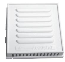 Accustat CP-012  Locking Thermostat Cover White