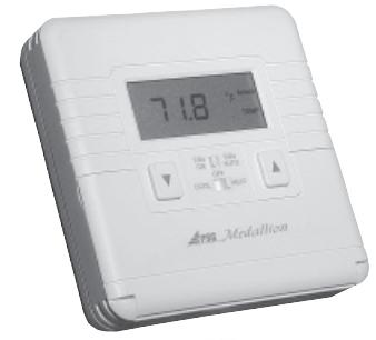 Accustat TDMP24-AH11-M3F Thermostat 1 Heat/1 Cool Programmable Hardwire Backlit Fan