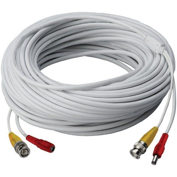 LOREX CB250URB Video RG59 Coaxial BNC/Power Cable (250ft)