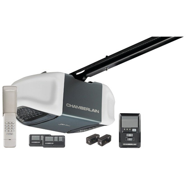 CHAMBERLAIN MYQ WD832KEV 1/2HP MyQ(R)-Enabled Belt Whisper Drive Garage Door Opener