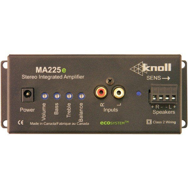 KNOLL SYSTEMS MA225E 25-Watt, 2 Eco-System(TM) Integrated Stereo Amp
