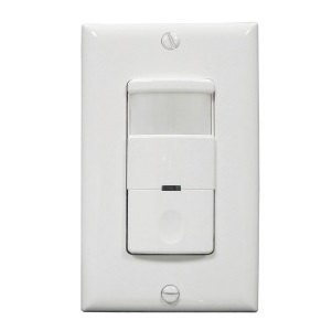 Marktime 42ES5HD-W 42E Series PIR and Dual Technology Occupancy/ Vacancy Sensor Switches [WHITE]