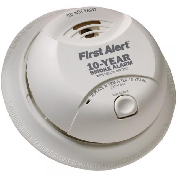 First Alert SA340CN Smoke Alarm W/Lithium Battery (FATSA340CN)