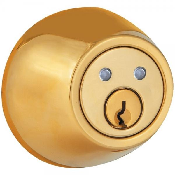 Morning Industry INC RF-01P Dead Bolt RF Remote Control Polished Brass Finish (MIYRF01P)
