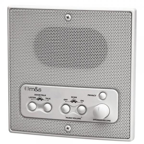 M&S Systems DMC1RW Remote Outdoor Speaker & Controller White for DMC1 (MSSDMC1RW)