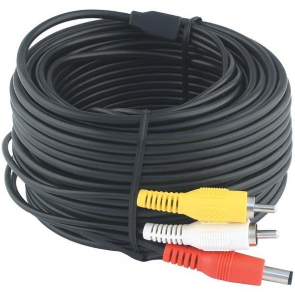 Swann SWADS-18MAVC 60 RCA A/V & Power Extension for Security Cameras  (SCUSWADS18MAVC)