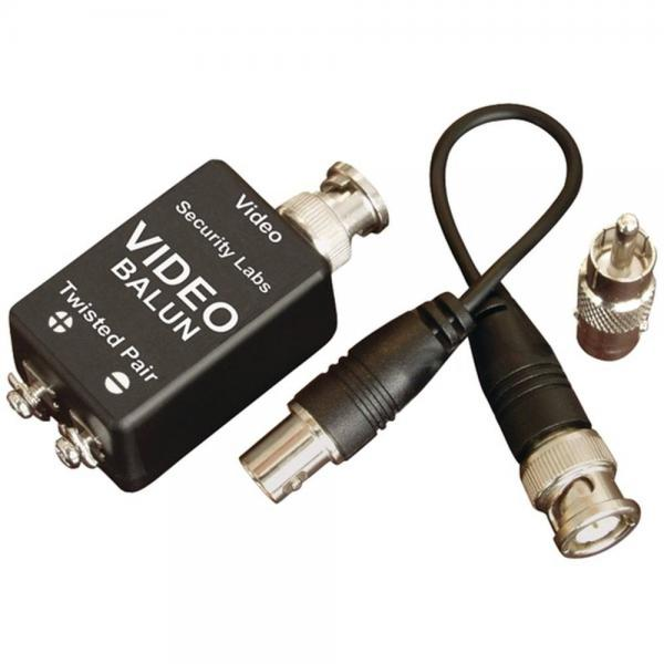 Security Labs SLA40 UTP Video Balun Sends Video Up To 1000 via CAT-5 Cable (SEYSLA40)