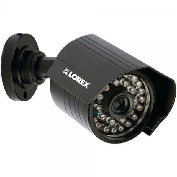 Lorex CVC6945 Night Vision Security Camera Indoor/Outdoor Black Bullet Style (LORCVC6945)