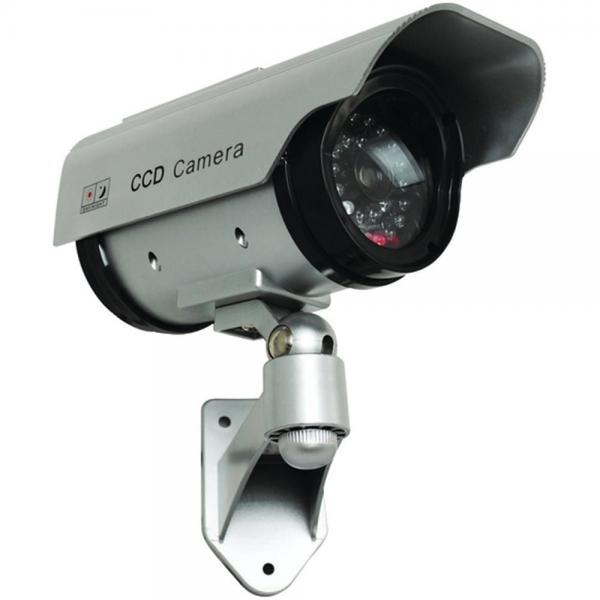 Security Man SM-3803 Dummy Camera Solar Powered Indoor/Outdoor W/LED (MCYSM3803)