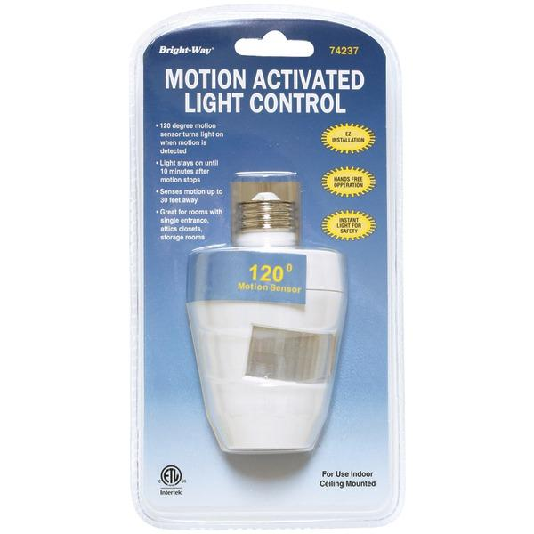 BRIGHT-WAY 74237 Motion Activated 120-- Indoor Light (HBCL74237)
