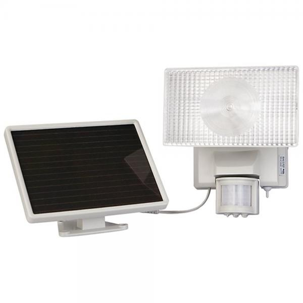 Maxsa 40224 Security Floodlight Solar-Powered 50 LED Motion-Activated White (MXI40224)