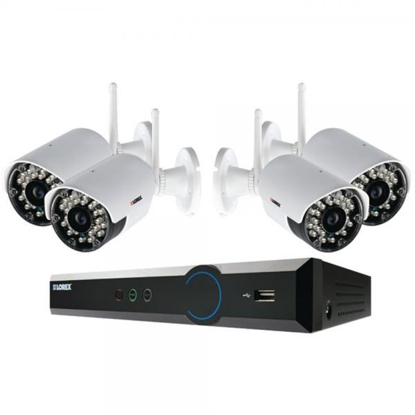 Lorex Eco 4-Ch Stratus DVR Security System 4 Wireless Cameras LH03045GC4W  (LORLH03045GC4W)