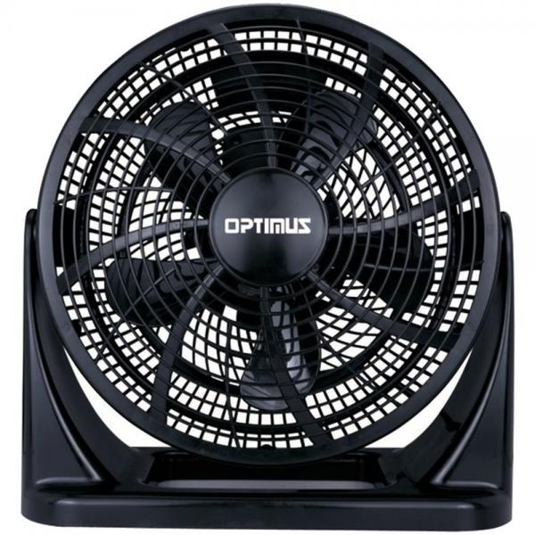 Optimus F-7120 12 Portable Fan Turbo Series High Performance Black (OPSF7120)