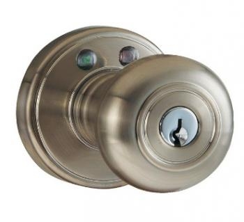 MORNING INDUSTRY INC RKK-01SN Remote Control Electronic Entry Knob (Satin Nickel Finish)
