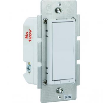 GE 12724 Z-Wave(R) In-Wall CFL-LED Dimmer Switch