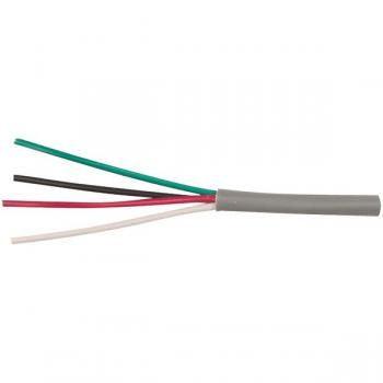 ETHEREAL 22-4-SD-GY 22-Gauge, 4-Conductor Solid Cable, 500ft Speed Bag (Gray)