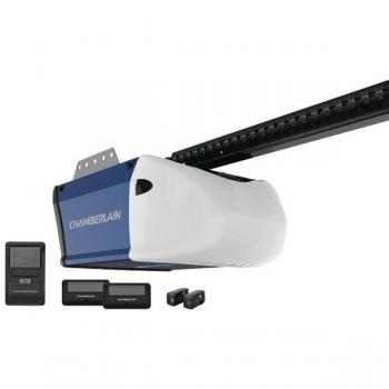 CHAMBERLAIN PD512 1/2HP Chain Garage Door Opener with 2 Remotes