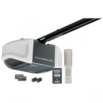 CHAMBERLAIN MYQ WD962KEV 3/4HP MyQ(R)-Enabled Belt Drive Garage Door Opener with Battery Backup
