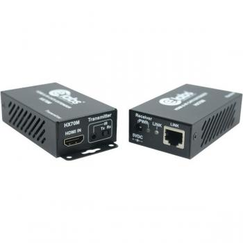 CE LABS HX70M HDBaseT(TM) HDMI(R) CAT-6 Extender Kit for 4K