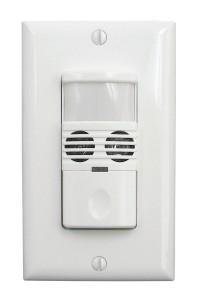 Marktime 42EDS1-W 42E Series PIR and Dual Technology Occupancy/ Vacancy Sensor Switches [WHITE]