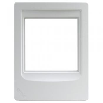 M&S Systems DMCFR Intercom Frame White Plastic Fits All Indoor Room Stations (MSSDMCFR)