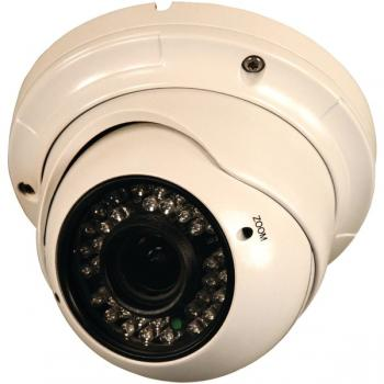 SECURITY LABS SLC-182 800-Line Varifocal 2.8mm - 12mm Turret Dome Camera with IR Cut Filter (SEYSLC182)