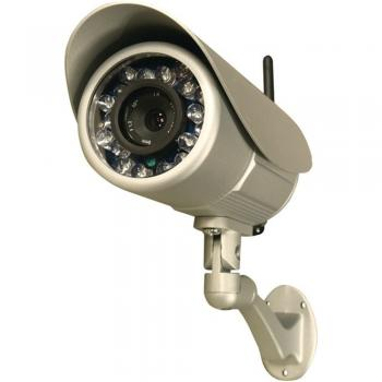 Security Labs SLW-164 Wireless Weatherproof IP IR Camera W/Scheduled Recording (SEYSLW164)