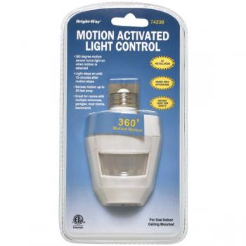 BRIGHT-WAY 74238 Motion Activated 360-- Indoor Light (HBCL74238)