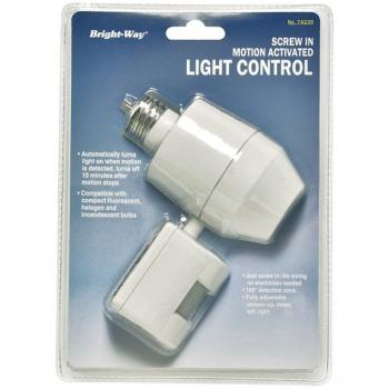 BRIGHT-WAY 74239 Motion Activated Outdoor Light (HBCL74239)