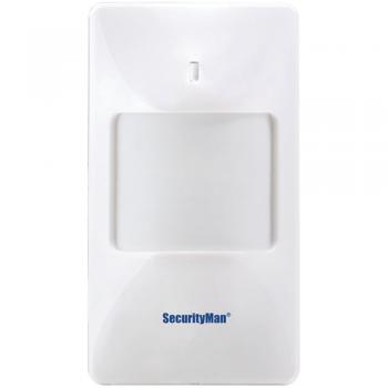 Security Man  SM-80 Wireless Wide-Angle PIR Motion Sensor for Air-Alarm System (MCYSM80)