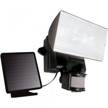 Maxsa 40223 Security Floodlight Solar-Powered 50 LED Motion-Activated Black (MXI40223)