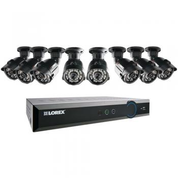 Lorex LH03085GC8B Security System 8-Ch Stratus Cloud 500GB DVR & 8 Cameras (LORLH03085GC8B)