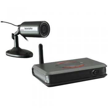 Security Man CUCAM1 Outdoor Bullet Camera Security Kit Wi-Fi 900 MHz W/ 1 Ch DVR (MCYCUCAM1)