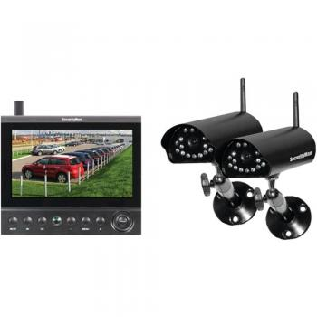 Security Man Wireless Dual Weatherproof Cameras & 7 LCD/DVR Security Kit (MCYDLCDR2)