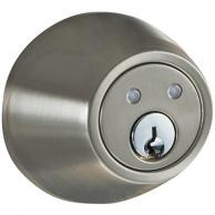 MORNING INDUSTRY INC RF-01SN Remote Control Electronic Dead Bolt (Satin Nickel)