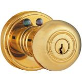 Morning Industry Inc RKK01P Door Knob Electronic Remote Controlled Brass (MIYRKK01P)